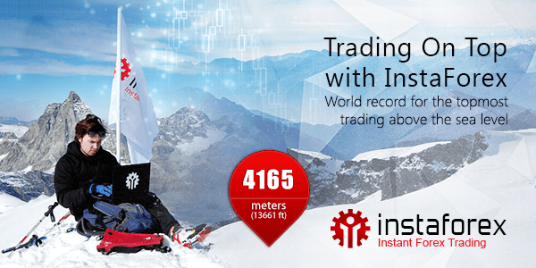 Trading on top with InstaForex!