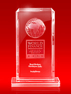 World Finance Awards 2013 - The Best Broker in Northern Asia