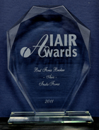 IAIR Awards 2011 - The Best Broker in Asia